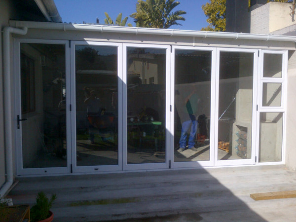 Western Cape, Paarl, Synogogue street, Aluminium Sliding folding door